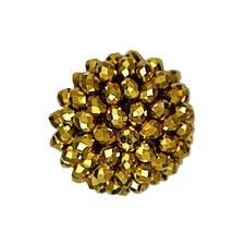 Boutons pierre cristal   14mm à 19mm