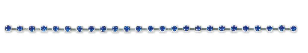 Chaine de strass  cristal  3mm à 4mm