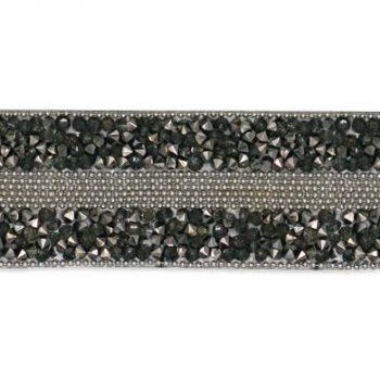 Galon cristal et chaîne thermocollant