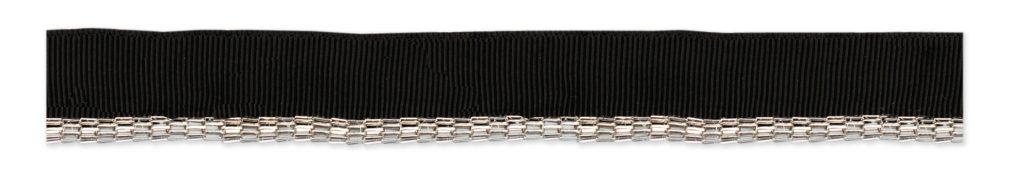 Passepoil chaine métal   20mm