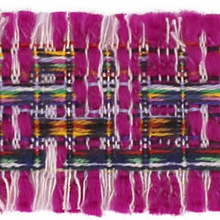 Galon style chanel avec frange   35mm