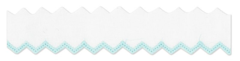 Broderie anglaise zig zag 33mm