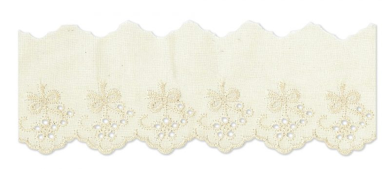 Broderie anglaise petit noeud  30mm