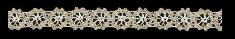 Dentelle coton lin  15mm