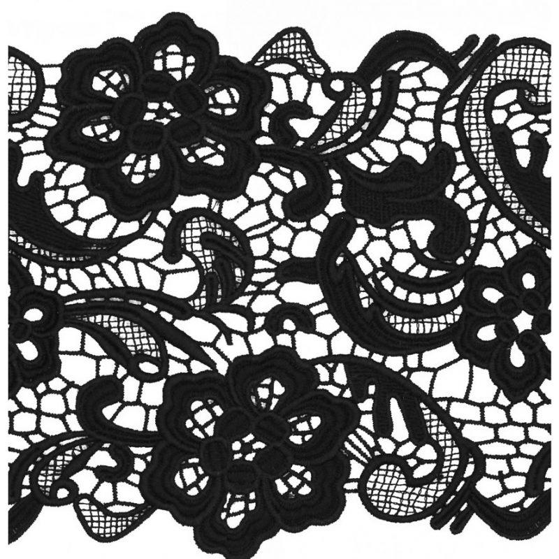 Dentelle guipure polyester   165mm