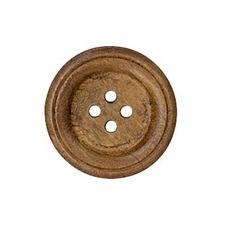 Boutons bois brodé 4 trous   13mm à 26mm