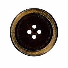 Bouton bois 4 trous   15mm à 30mm