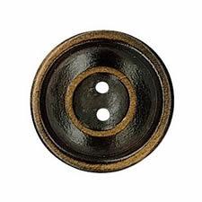 Bouton bois 2 trous   15mm à 30mm