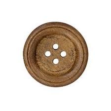 Boutons bois bordé 4 trous   13mm à 26mm