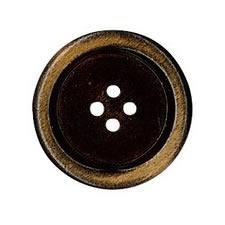 Bouton bois vielli 4 trous    15mm à 30mm
