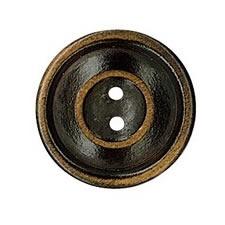 Bouton bois vielli 2 trous    15mm à 30mm