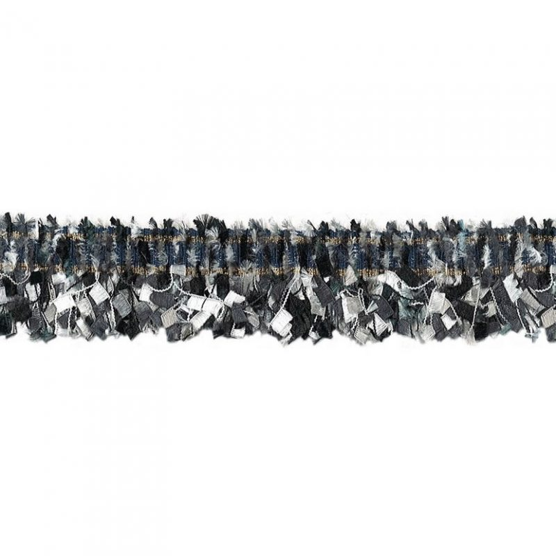 Galon franges métallisé   30mm