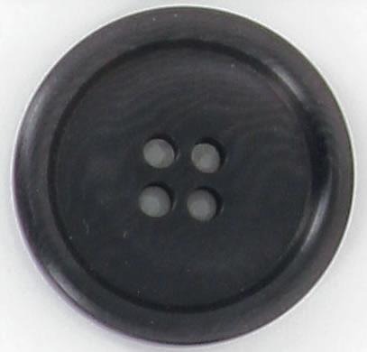 Bouton 4 trous corozo  bourrelet rond 15mm à 30mm