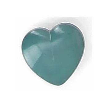 Boutons enfant coeur a pied 12mm à 15mm