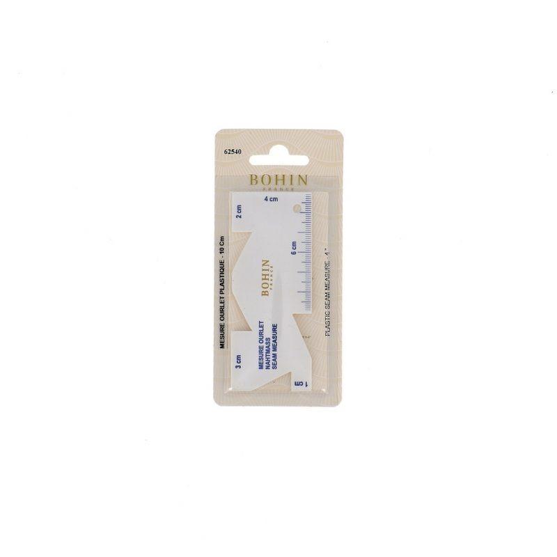 Mesure ourlet 10 cm plast - blister