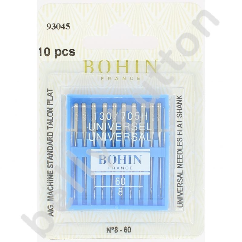 Aig machine bohin talon plat carte x 10 ass5 70-90mm à no 120