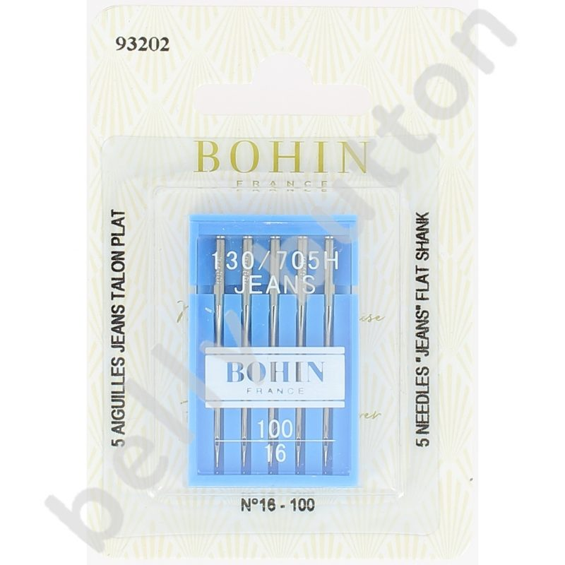 Aig machine bohin jeans talon plat carte x 5 100