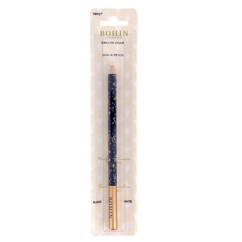 Crayon craie cabinet de curiosité mine blanche-blister