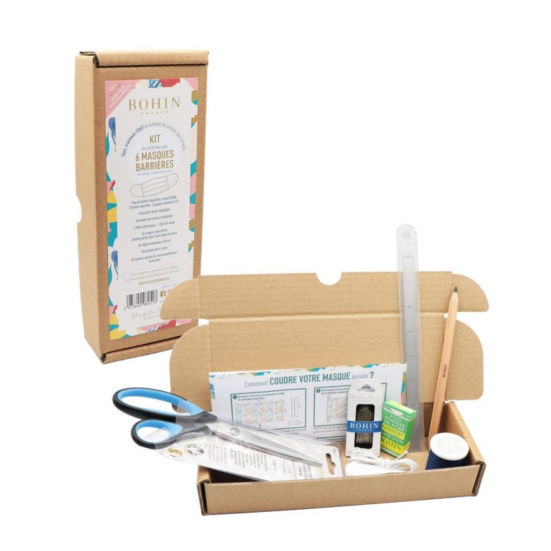 Kit couture 6 masques barrieres