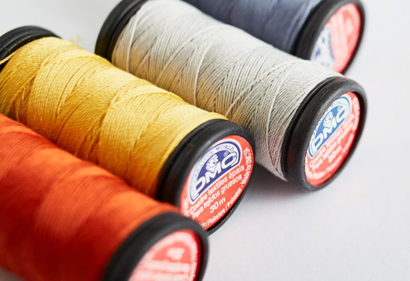 Dmc 1006 - fil polyester super resistant 30m  - boîte de 5 bobines