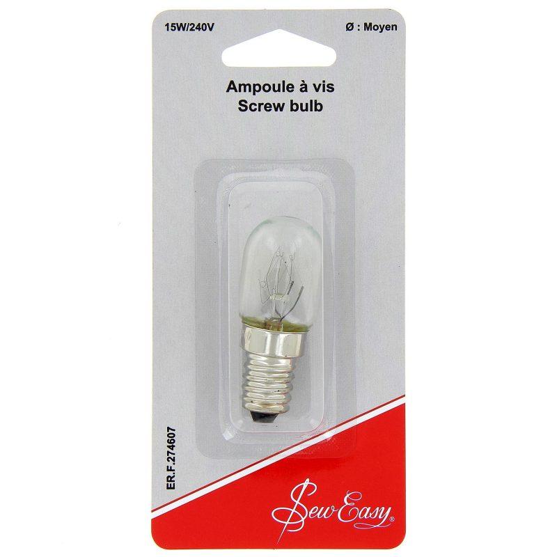 Ampoule a vis 15w/240v