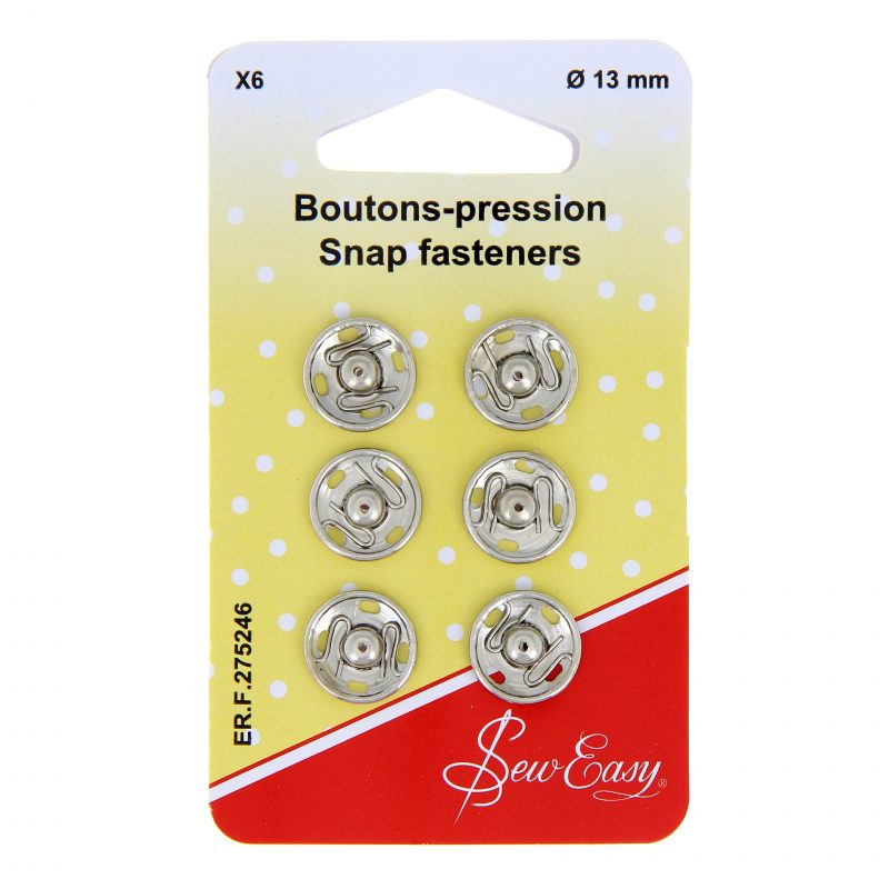 Boutons pression 13mm