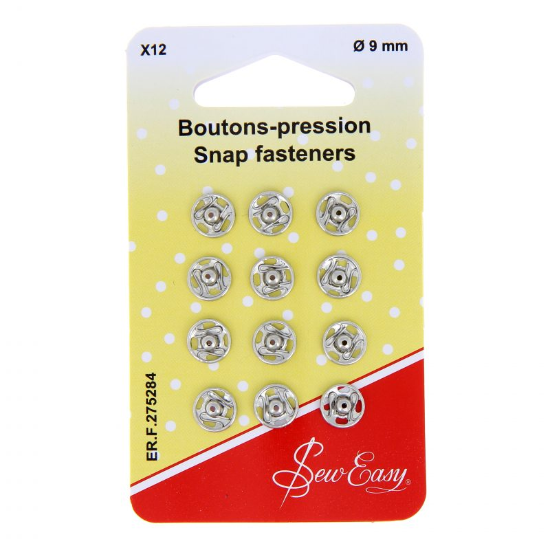 Boutons pression 9mm