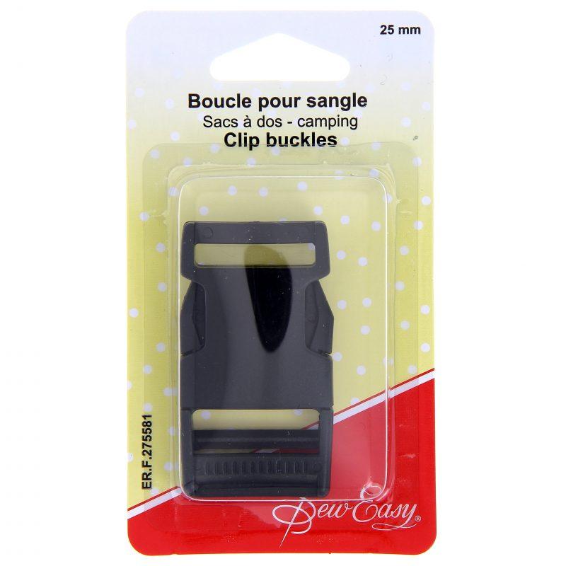 Boucle pour sangle sac a dos 25mm