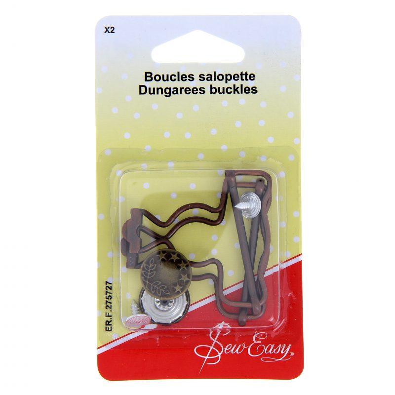 Boucles salopette x 2