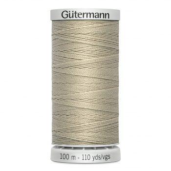 Gutermann 724033 fil extra fort polyester n.40 – boîte de 5 bobines de 100m