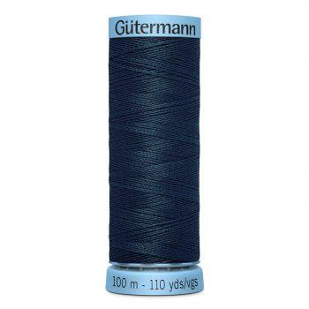 Gutermann 744590 fil soie s303 – boîte de 5 bobines de 100m