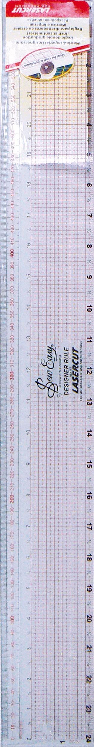 Regle sew easy 61 cm. / 24 inch