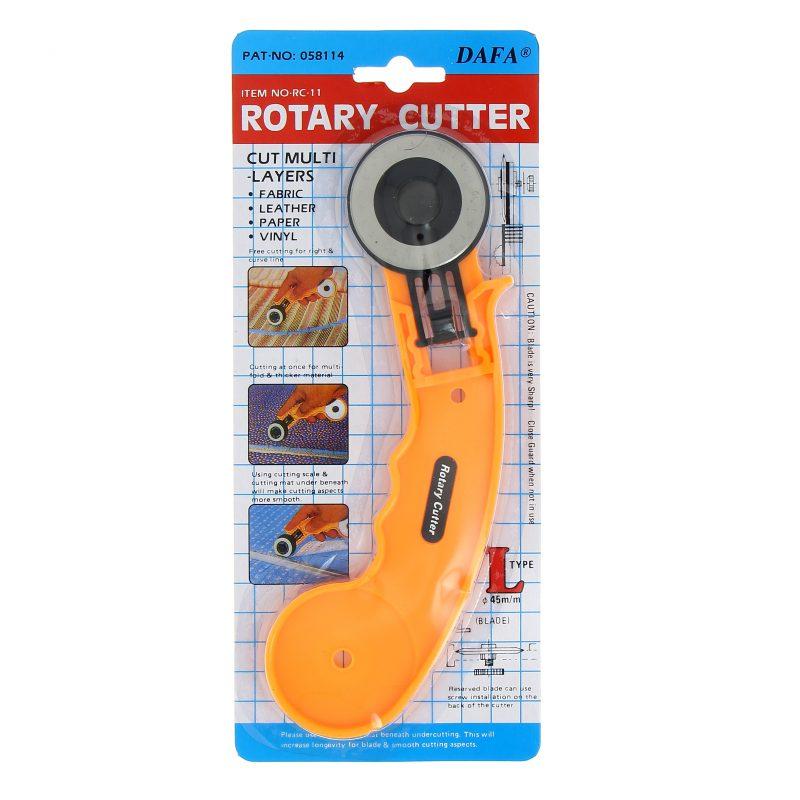 Cutter rotatif diam. 45 mm. lame droite