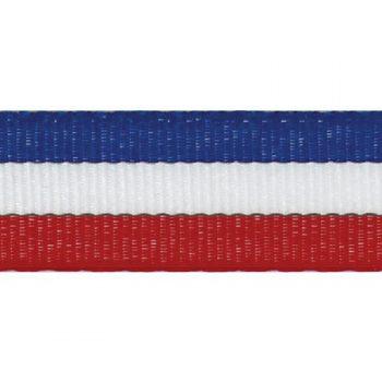 Mademoiselle – ruban tricolore - 10mm à 66mm