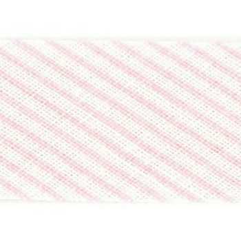 Mademoiselle  -  biais replié rayures  18mm