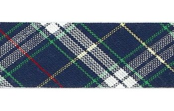 Mademoiselle  -  biais replié ecossais  18mm