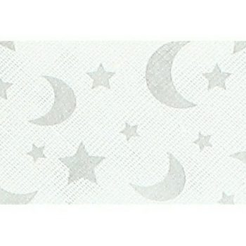 Mademoiselle  -  biais replié étoiles  18mm