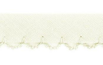 Mademoiselle  -  biais picot  10mm