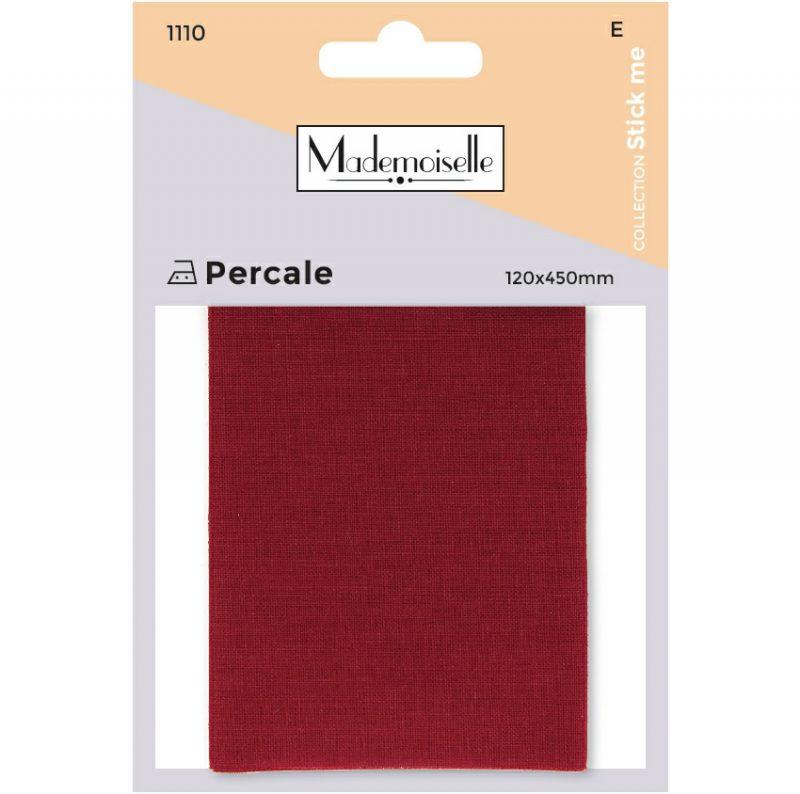 Mademoiselle  - piece percale coton thermo 12x45cm  (e)