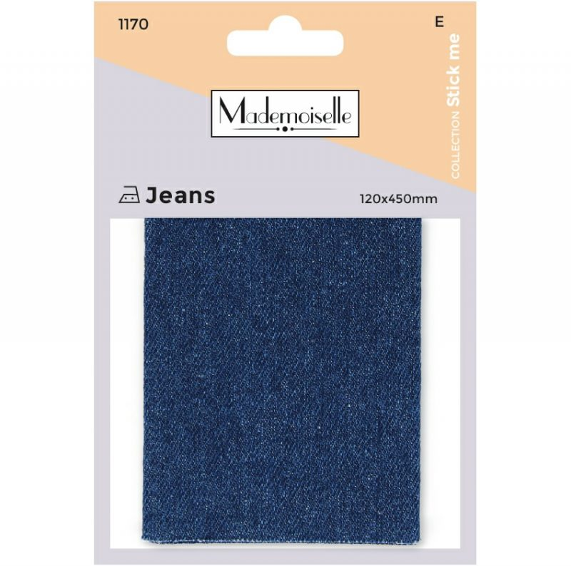 Mademoiselle  - piece jeans  12x45cm  (e)
