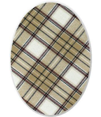 Coudes ecossais beige  (f)