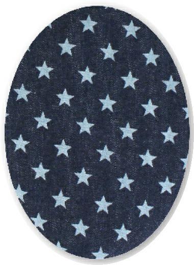 Coudes etoiles bleu foncee et clair (f)