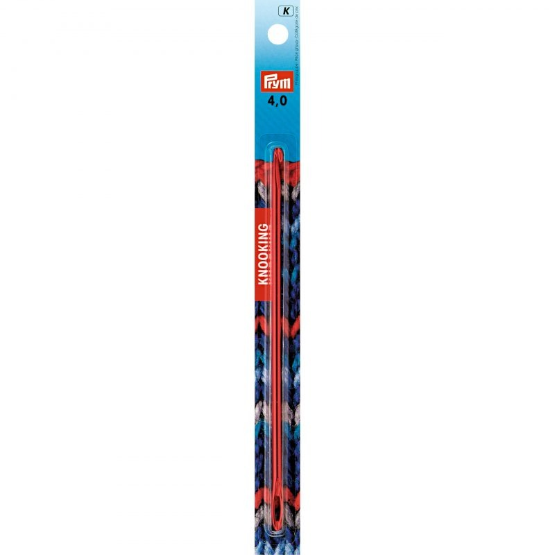 Aiguille  knooking alu 16,5 cm 4,00 mm