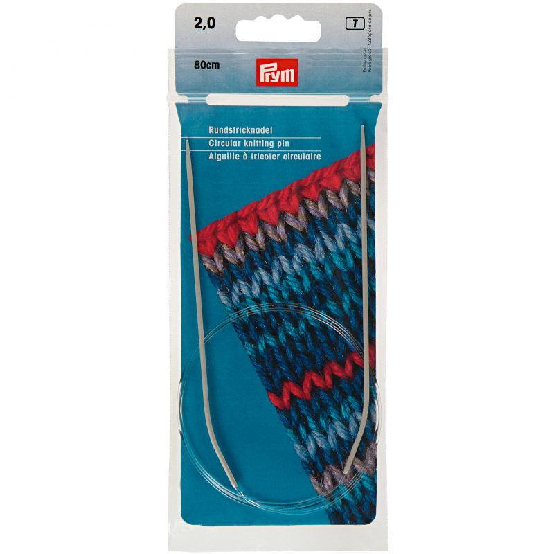 Aiguille  tricot circulaire   80 cm  2,00 mm