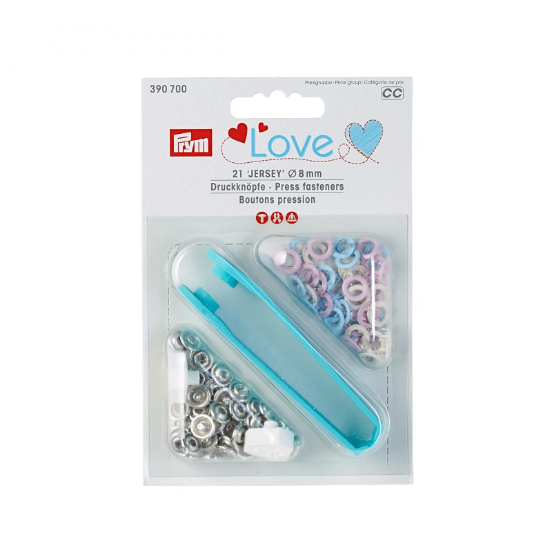 Prym love boutons pression  8mm  390700