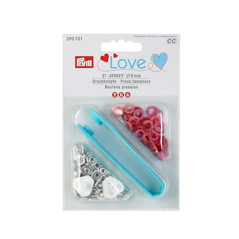 Prym love boutons pression  8mm  390701