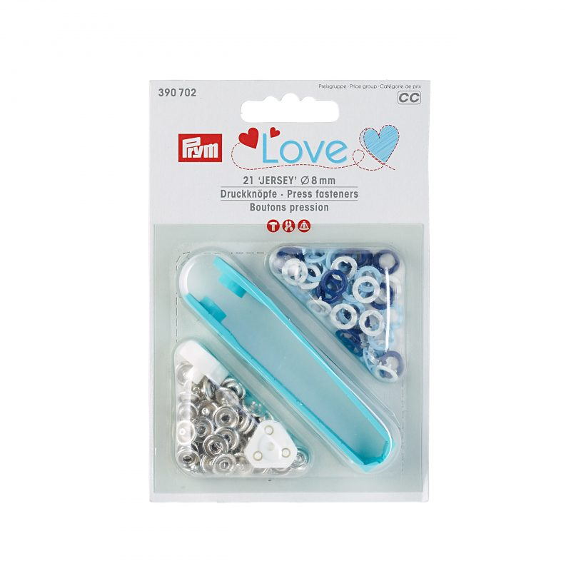 Prym love boutons pression  8mm  390702