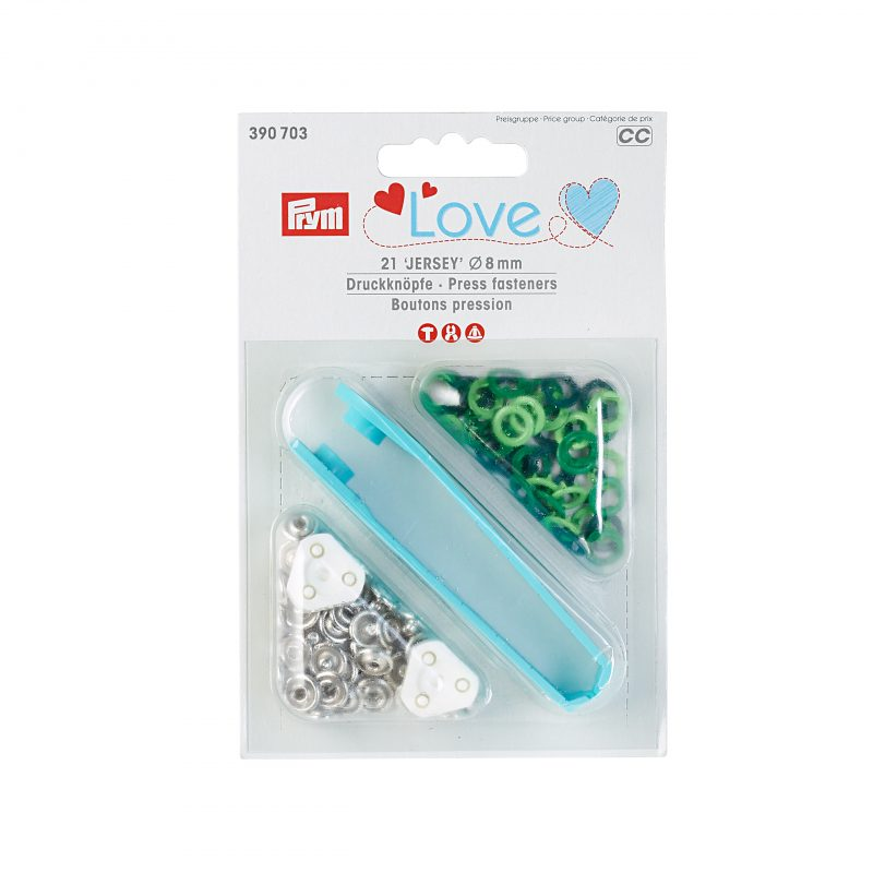 Prym love boutons pression  8mm  390703