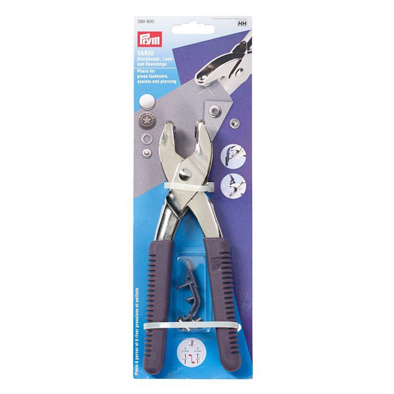 Pince  vario avec outils de prepercage 3 et 4 mm