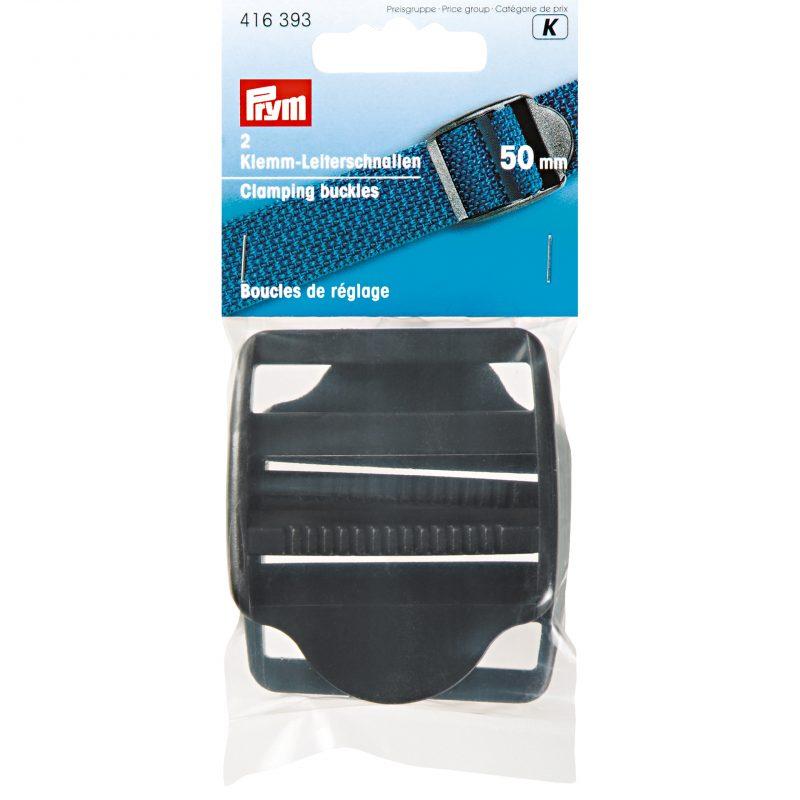 Boucle de reglage plastique 50 mm noir